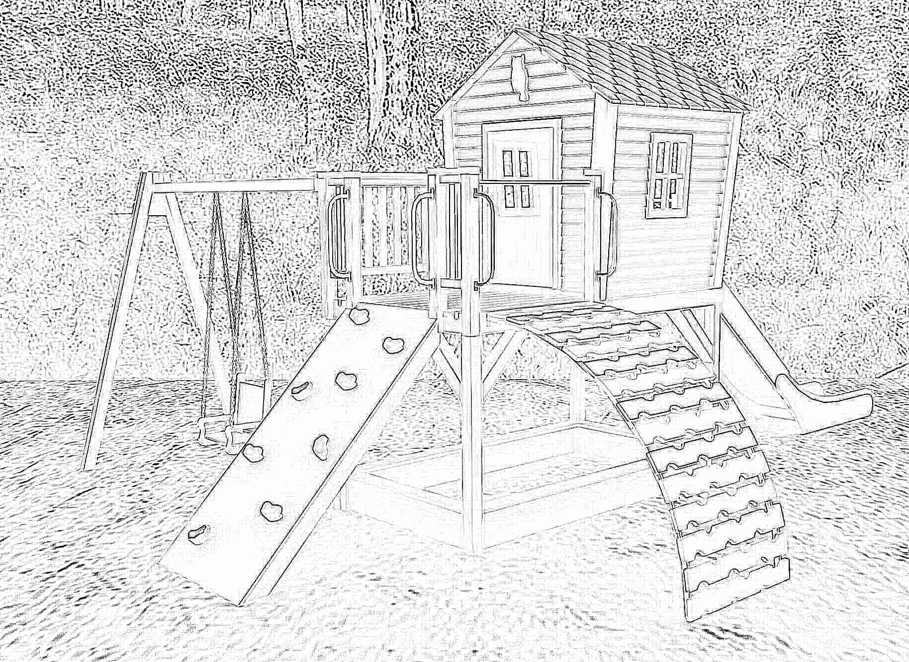 Фото детских площадок своими руками цены