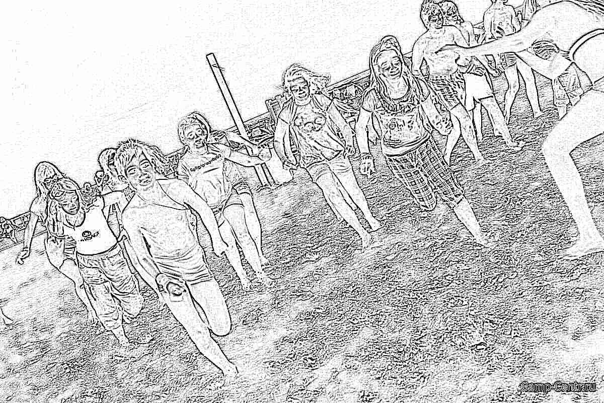 Картинки лето отдых для детей
