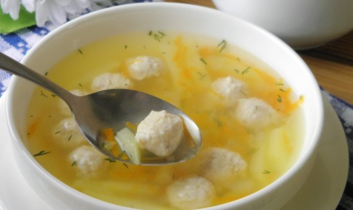 суп с фрикадельками для 9 месячного рецепт