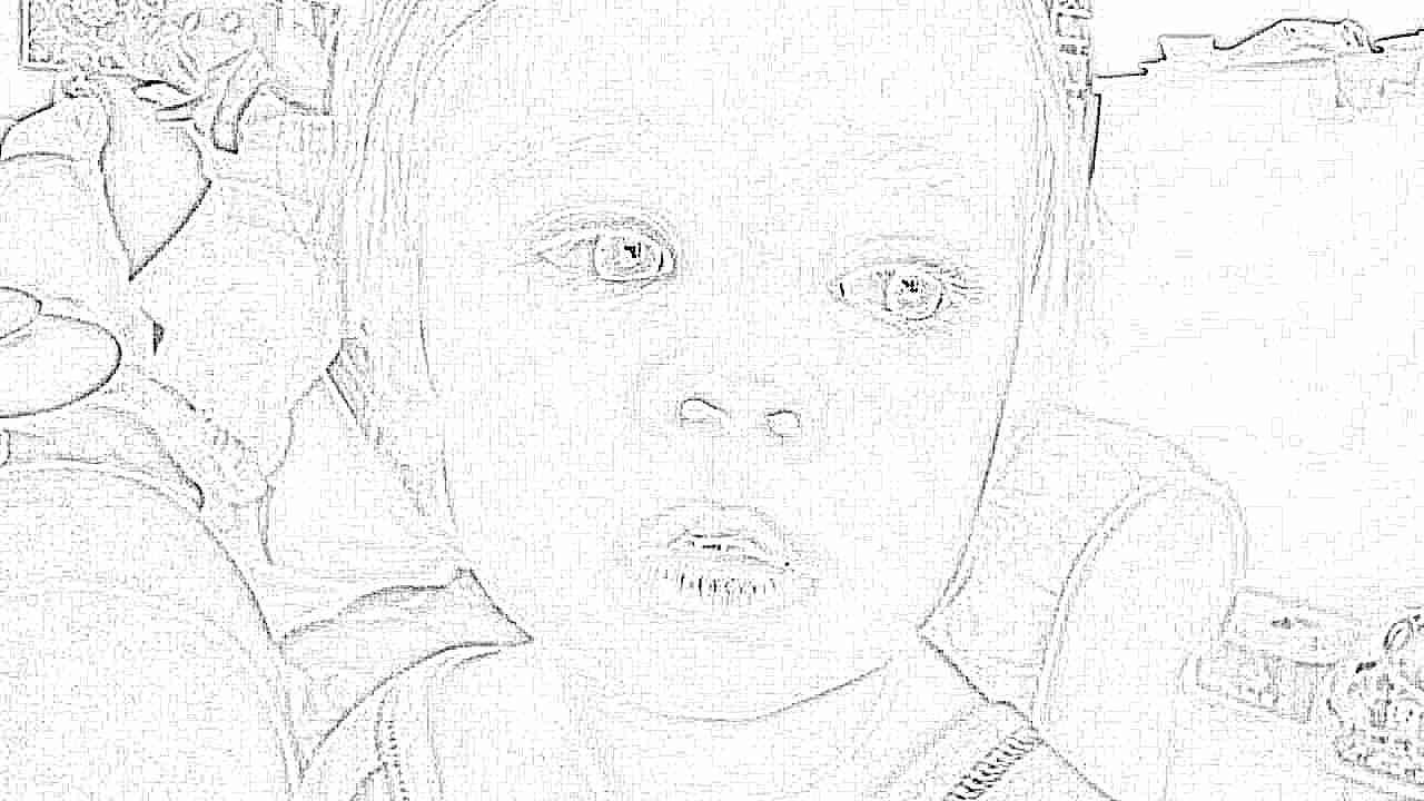 У ребенка черные круги под глазами