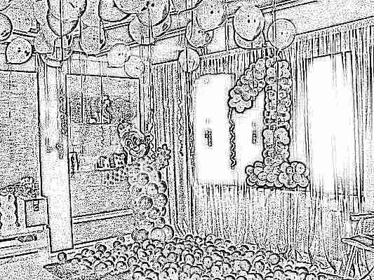 Украшение на день рождения 1 годик