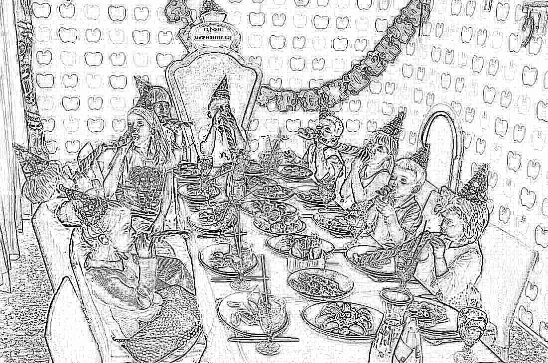Сценарий дня рождения ребенка в домашних условиях
