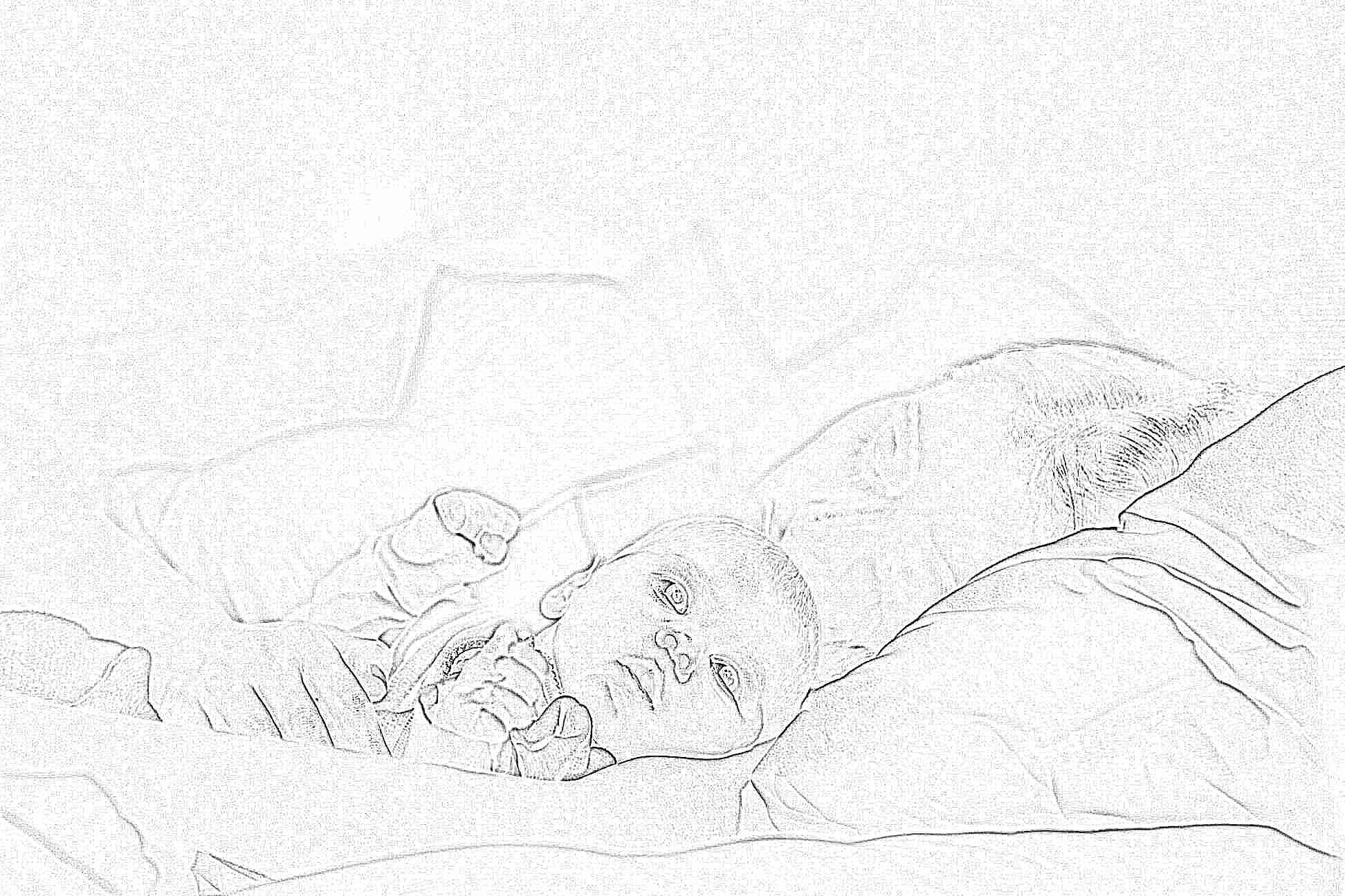 Девочки как преучить ребенка спать всю ночь 24