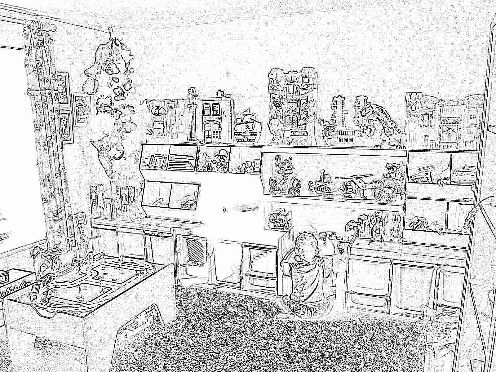 Как сделать детский уголок игрушек