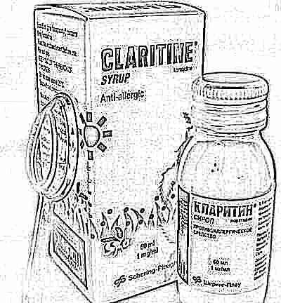 кларитин сироп для детей состав