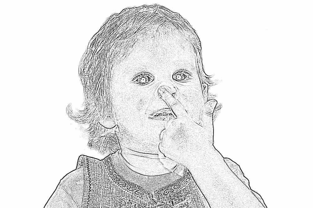 Ребенок постоянно нюхает свои руки 652