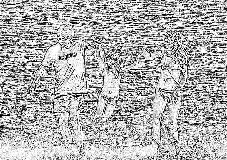 Море с детьми в крыму фото