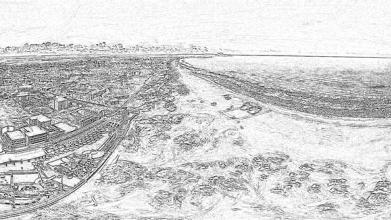 Витязево фото поселка и пляжа в сентябре