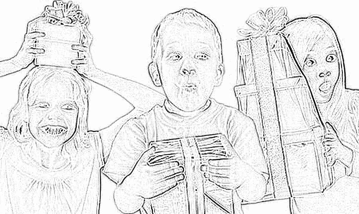 Подарки от малышей 79