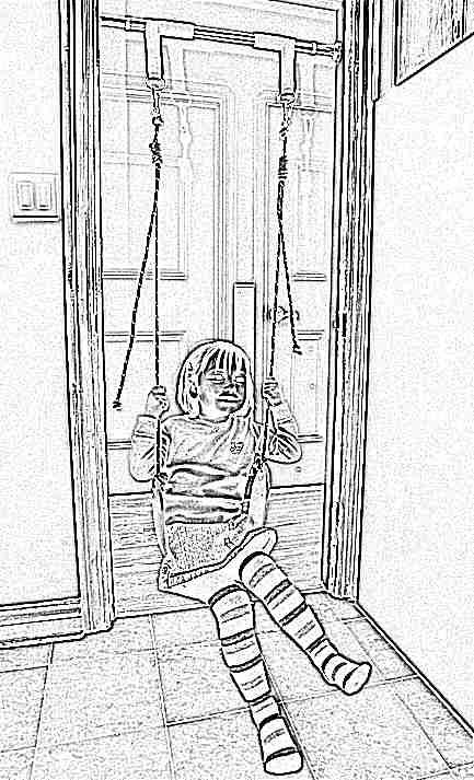 Как сделать в квартире турник для ребенка