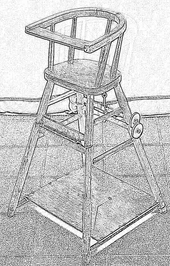 Как сделать стул для детей своими руками