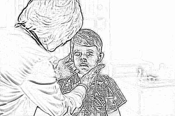 Большие лимфоузлы на шее у ребенка