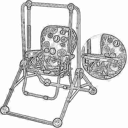 как закрепить стул у взрослого