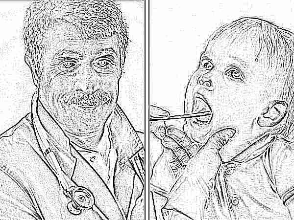 Доктор комаровский ангина у детей как лечить