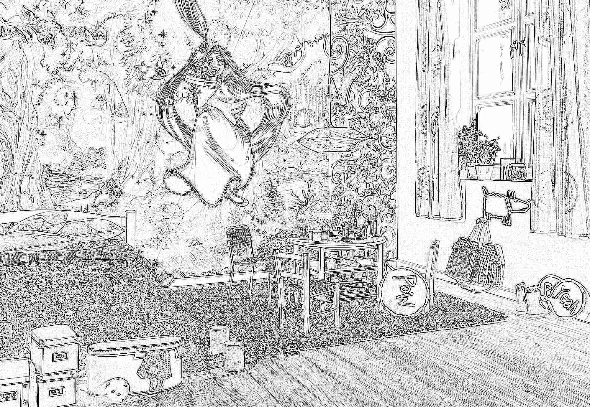 Фотообои в детскую комнату для мальчиков и девочек 55 фото