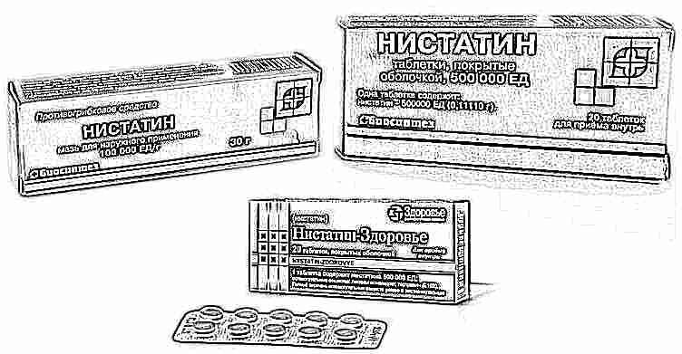 Нистатин – инструкция по применению, побочные эффекты, отзывы, цена.