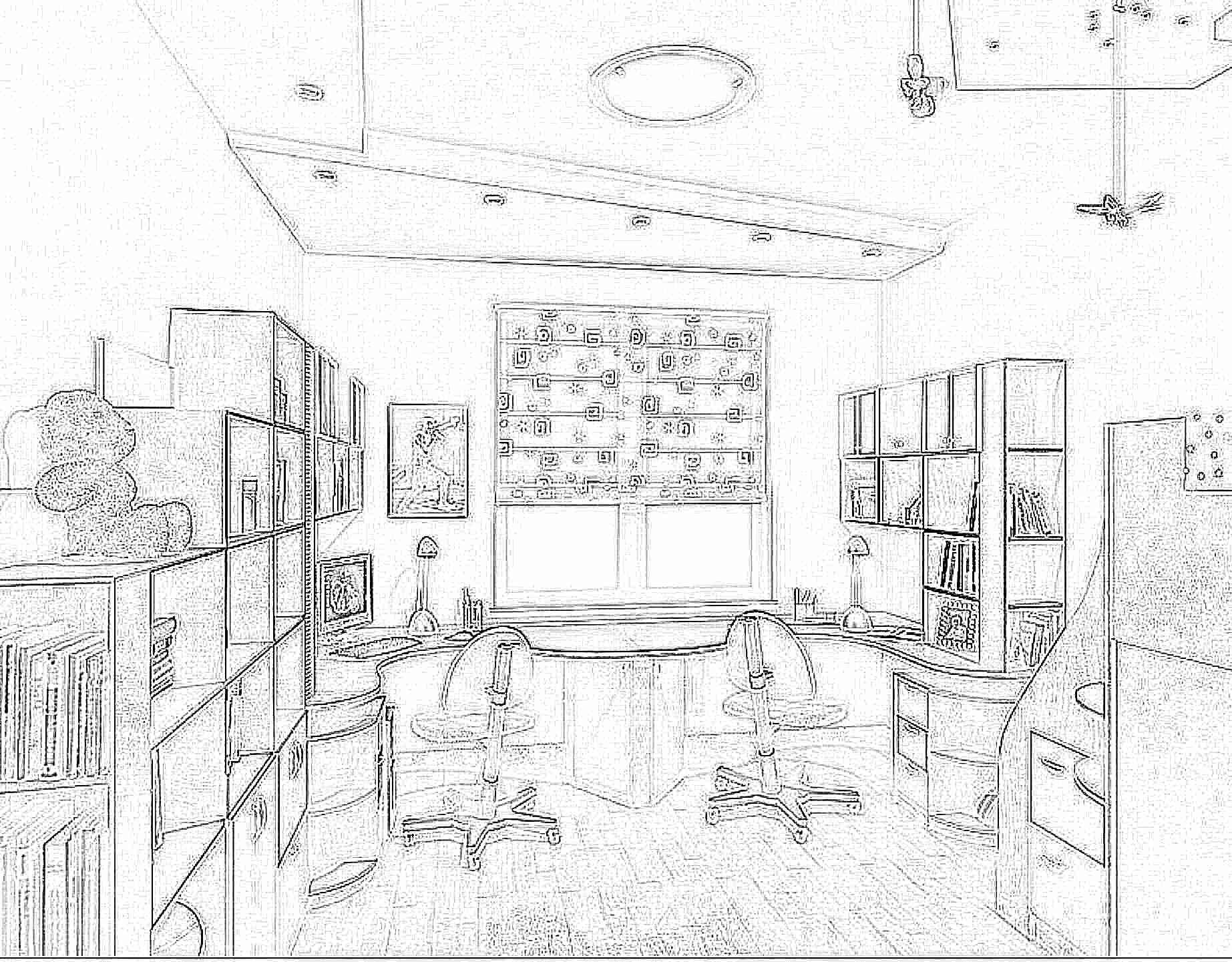 Письменный угловой стол для двоих детей (31 фото): детский к.