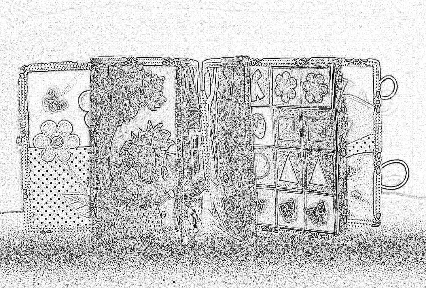 Мастерим развивающую мягкую книжку для малыша Материнство 100