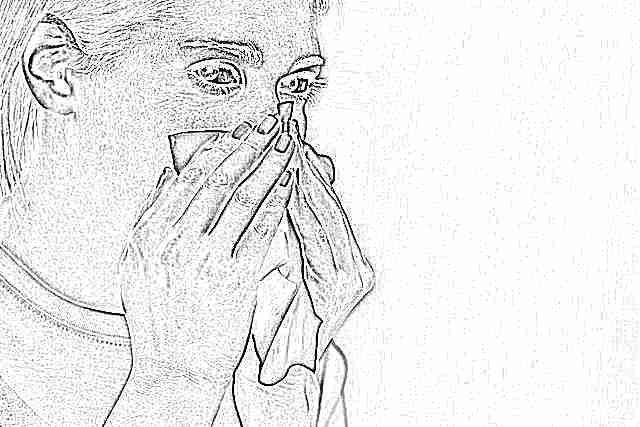 Запекшаяся кровь в носу при беременности