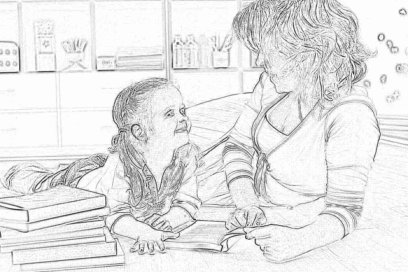 Правила которые легко научат детей быстро читать