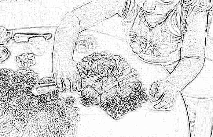 Генетический песок для детей как сделать