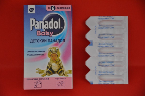 Панадол свечи для детей: инструкция по применению