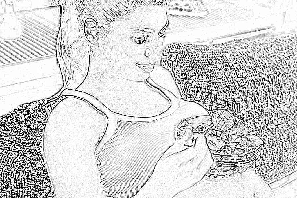 Жёсткая диета для беременных 1