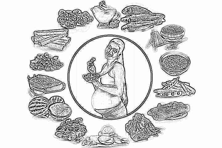 Чем питаться беременным чтобы не набрать лишний вес меню 15