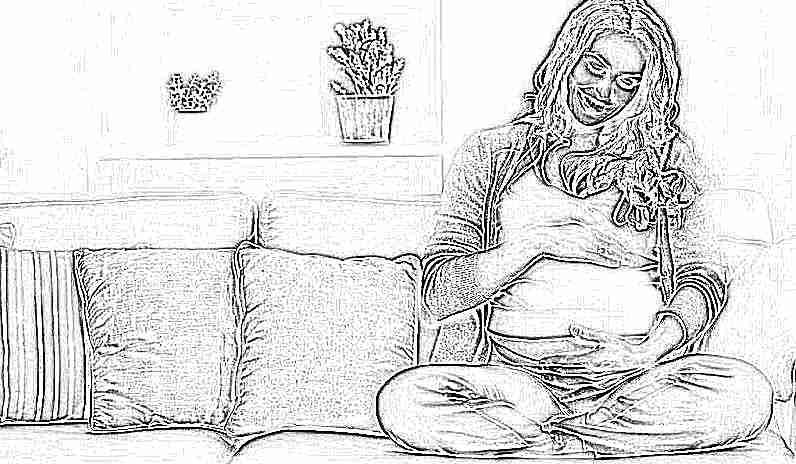 К чему снится беременная дочь маленькая 4