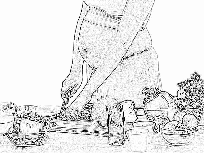 Как влияет питание беременной на ребенка 42