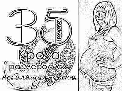 Тридцать пять недель беременности что происходит и можно ли рожать