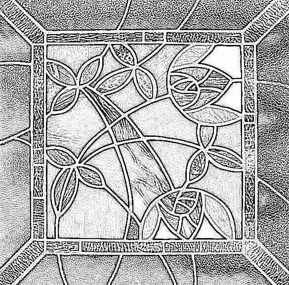 Красивые рисунки на стекле Построй свой Дом! 82