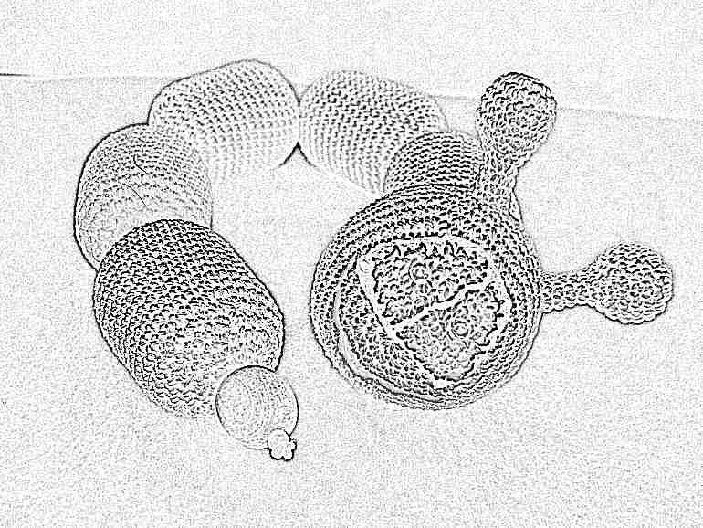 погремушка своими руками вязание крючком схемы игрушки из