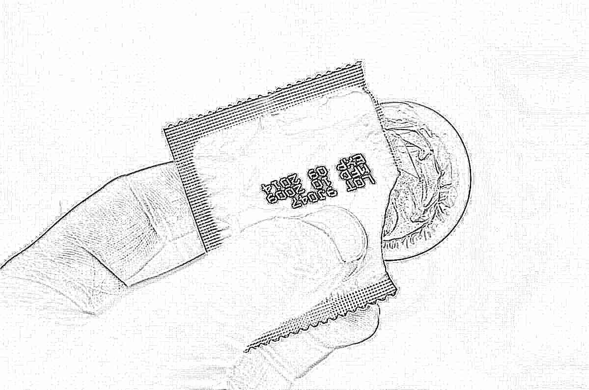 Сперматозоиды в презервативе
