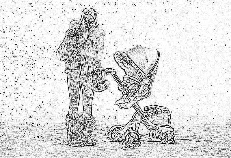 Как выбрать прогулочную коляску для зимы. Прогулочная коляска для зимы