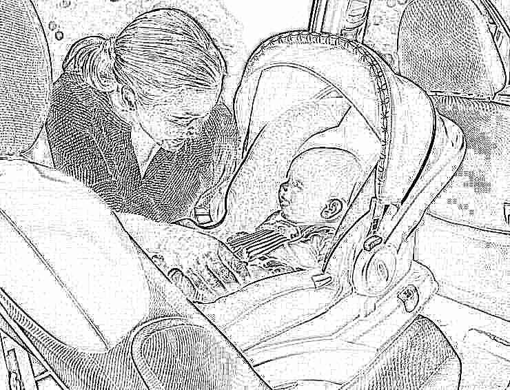 Как перевозить в машине детей до года: выбираем автолюльку