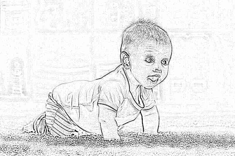 Во сколько месяцев ребенок начинает ползать и сидеть