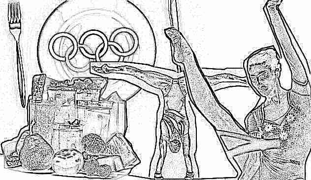Что едят гимнастки