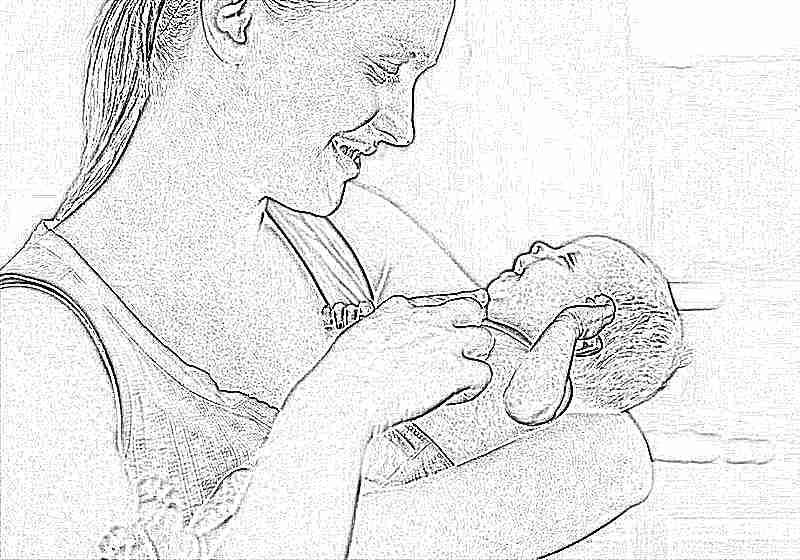 Когда новорожденный начинает видеть и узнавать маму