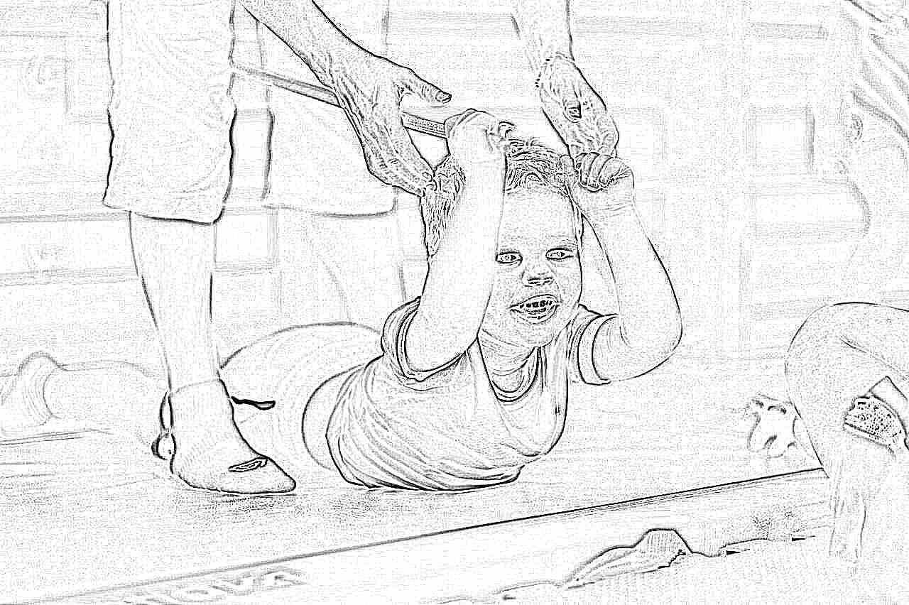 Картинки детей занимающиеся физкультурой