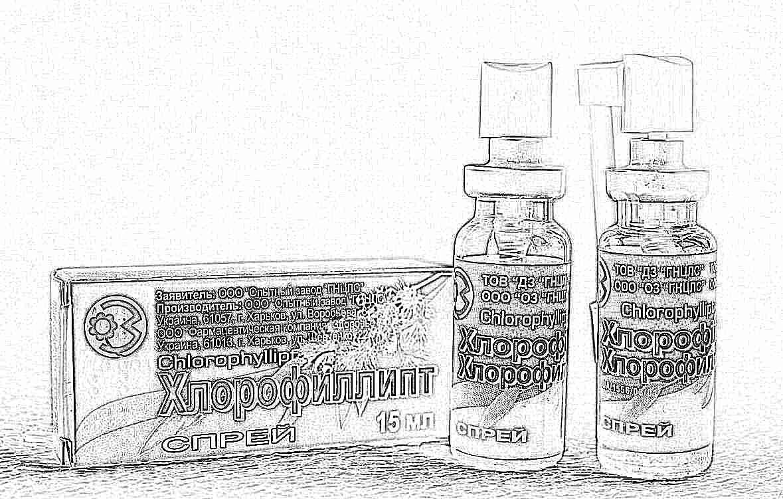 Хлорофиллипт спрей: инструкция по применению для взрослых и детей, аналоги