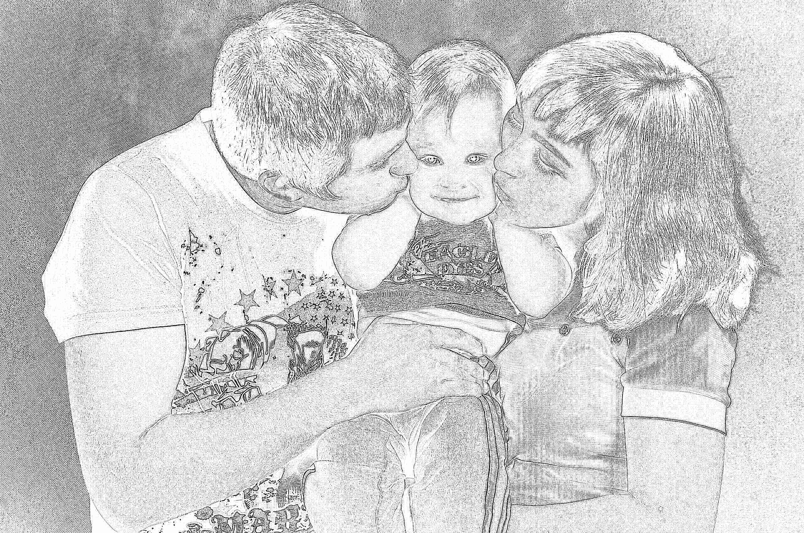Картинки красивые семейные пары с детьми