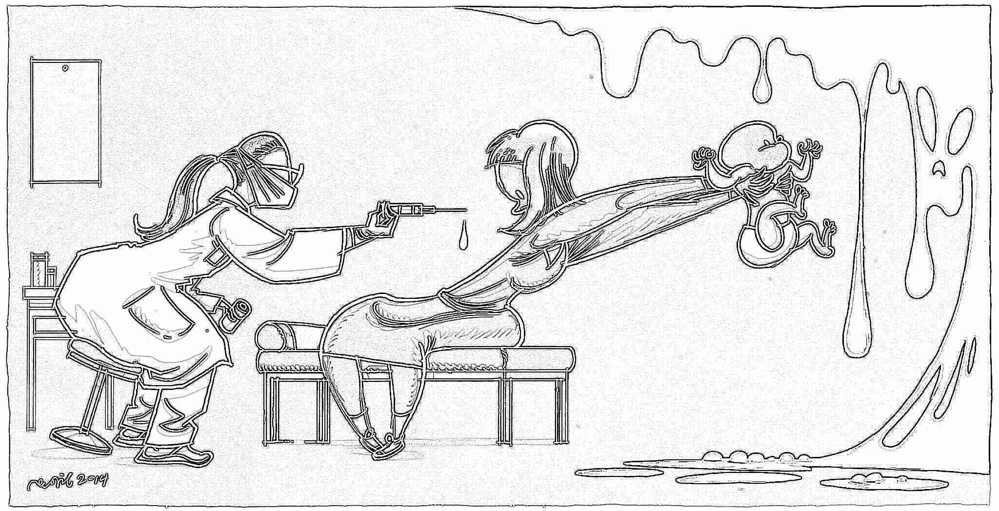 Прикольные картинки о прививках