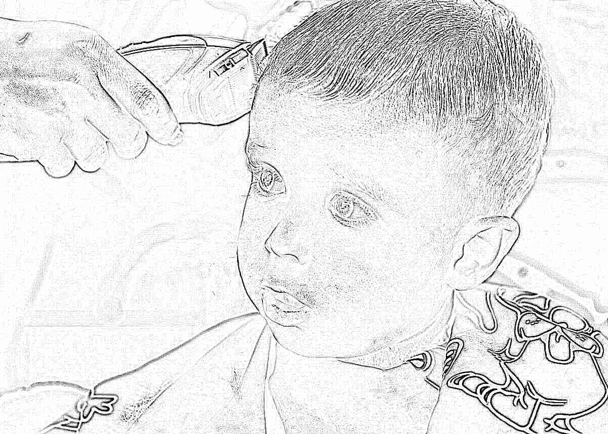 Надо ли брить волосы новорожденному
