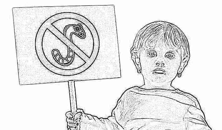 Аскариды и острицы лечение детей