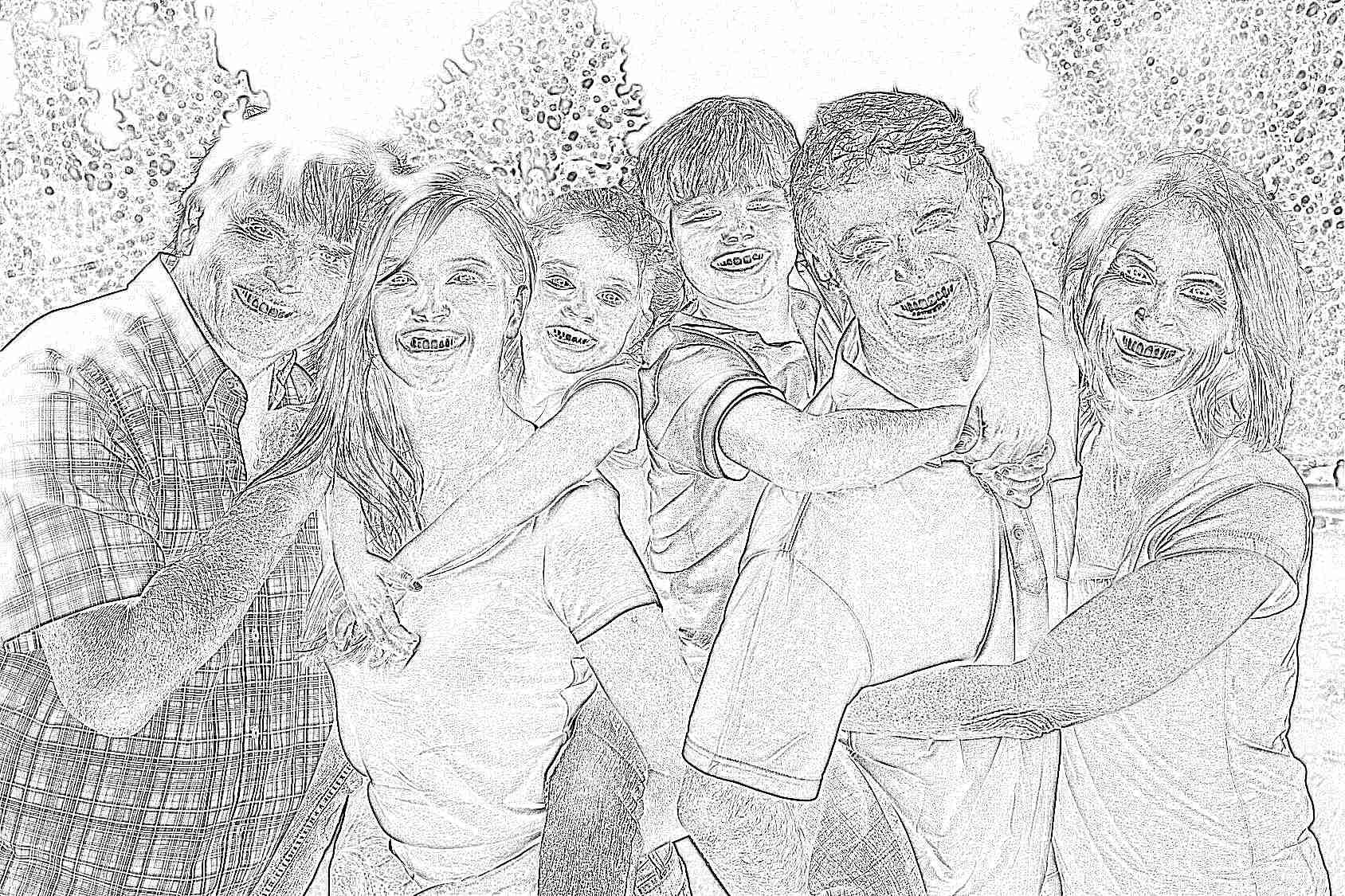 Картинки красивой семье, открытки фон