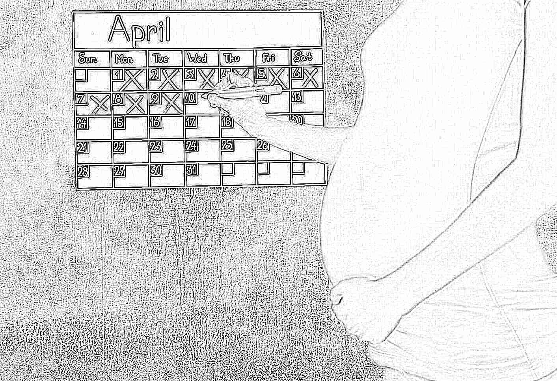 Определение даты родов по последним месячным калькулятор