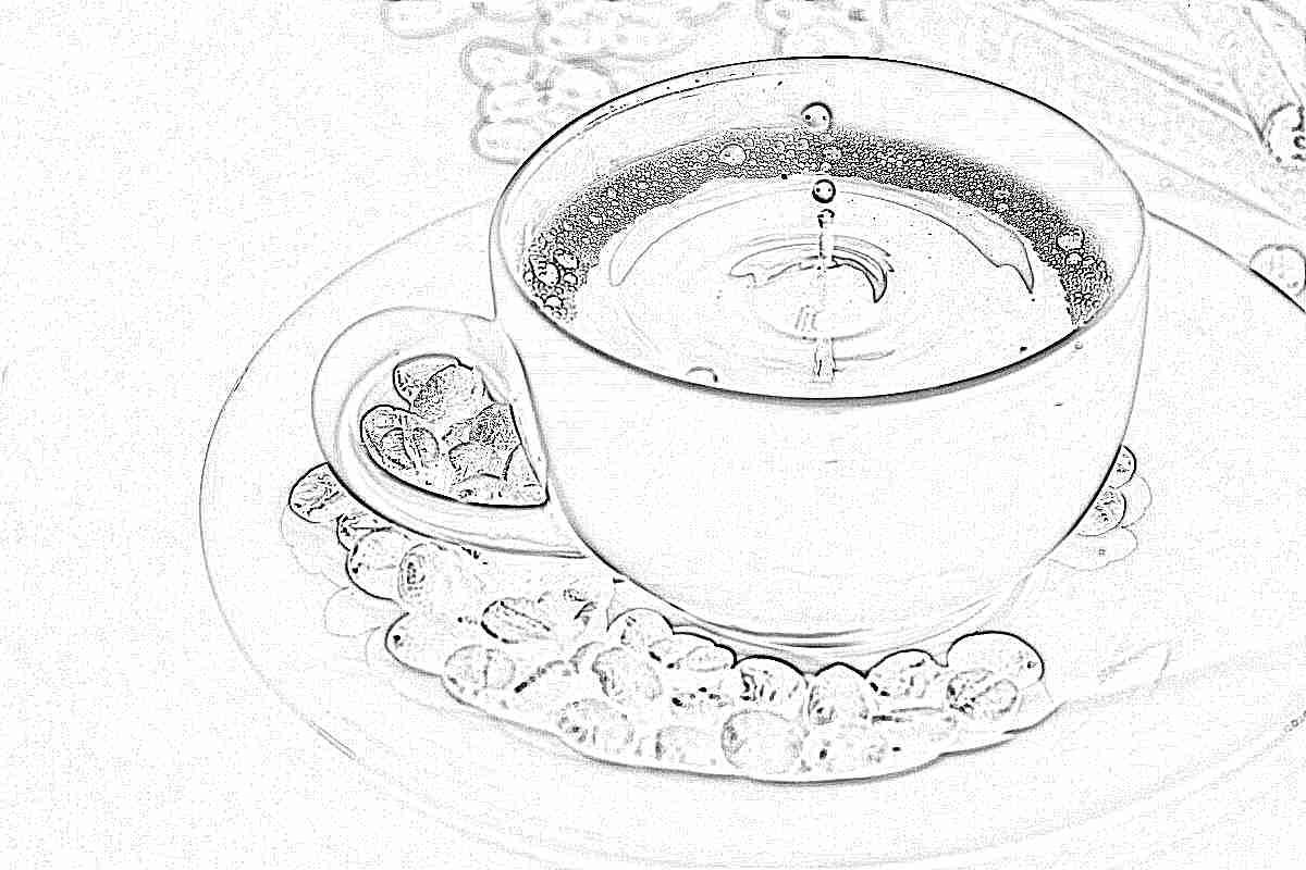 Кофе картинка для детей