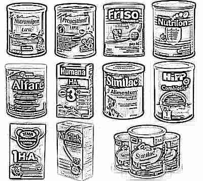 Гипоаллергенные смеси для детей