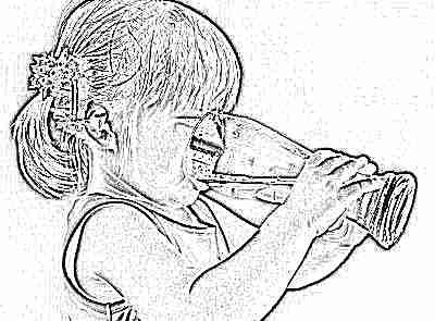 Норма воды для детей